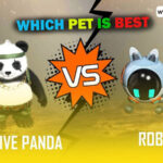 Detective Panda VS Robo: Comparing features of the two pet of Free Fire