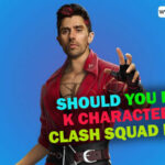 3 Reasons why you should pick K Character in Free Fire Clash Squad Mode