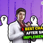Best 5 Free Fire Characters after the implement of Skyler