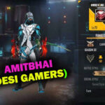 Desi Gamers (Amitbhai) Free Fire ID, K/D Ratio, Stats, and More of March 2021