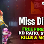 Miss Diya Free Fire ID, K/D Ratio, Stats & More in March 2021