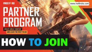 Partner Program Free Fire - How to join, Eligibility, Benefits, & more