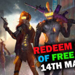 Redeem Code of Garena Free Fire for Today [14th March]   Claim Spikey Spine Weapon Loot Crate for Free