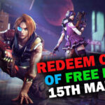 Redeem Code of Garena Free Fire for Today [15th March]   Claim Kpop Stardom Weapon Loot Crate for Free