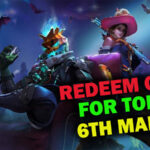 Redeem Code of Garena Free Fire for Today [6th March]   Claim Futuristic Weapon Loot Crate for Free