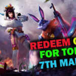 Redeem Code of Garena Free Fire for Today [7th March]   Claim Hipster Bunny Weapon Loot Crate for Free