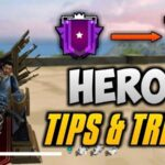 Tips & Tricks on How to rank up and Reach Heroic Faster | Garena Free Fire Season 20