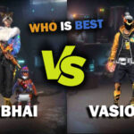 Ajjubhai VS Vasiyo CRJ7: Comparison on who has best stats in Free Fire in March 2021